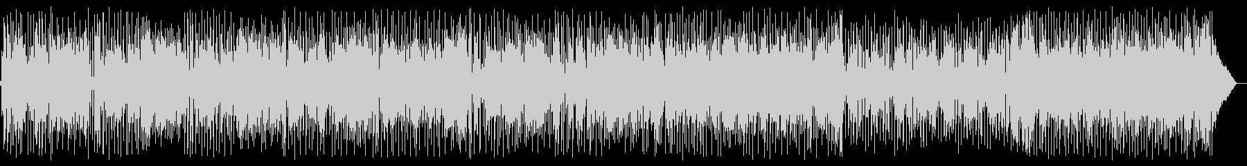 ポップなフュージョンの未再生の波形