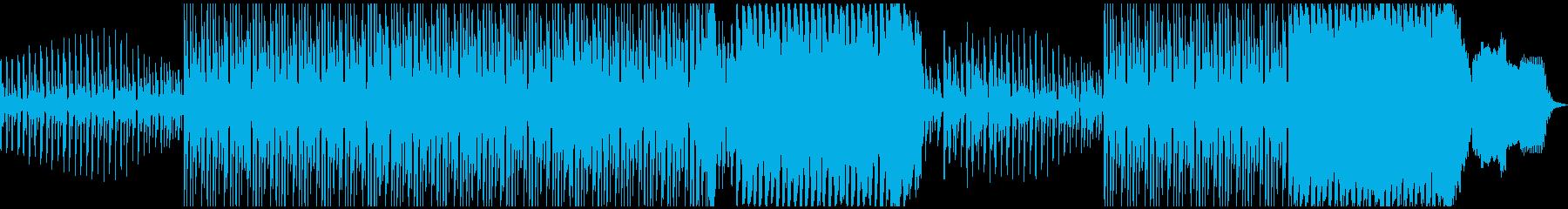 電気楽器。風変わりなロボットの溝。...の再生済みの波形