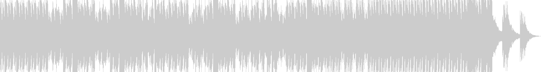 不安をかきたてるようなピアノ曲の未再生の波形