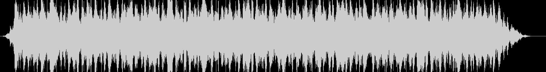 シネマミュージックサウンドBGMの未再生の波形