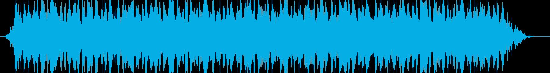 シネマミュージックサウンドBGMの再生済みの波形