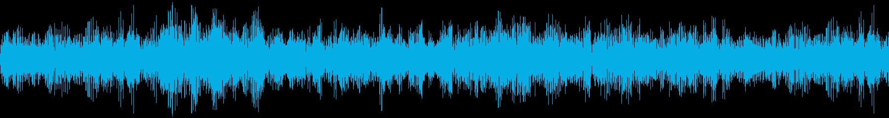 潜水艦水中ハムの再生済みの波形