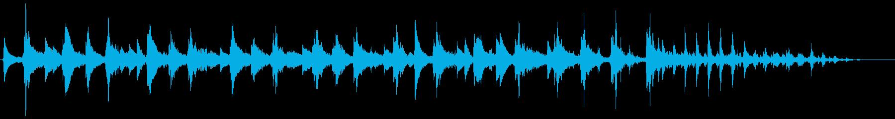 ウクレレ 日常の1コマに ジングルの再生済みの波形