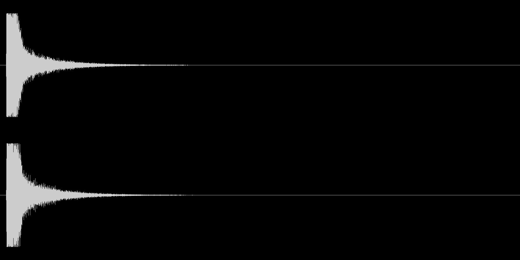 レーザー音-119-1の未再生の波形
