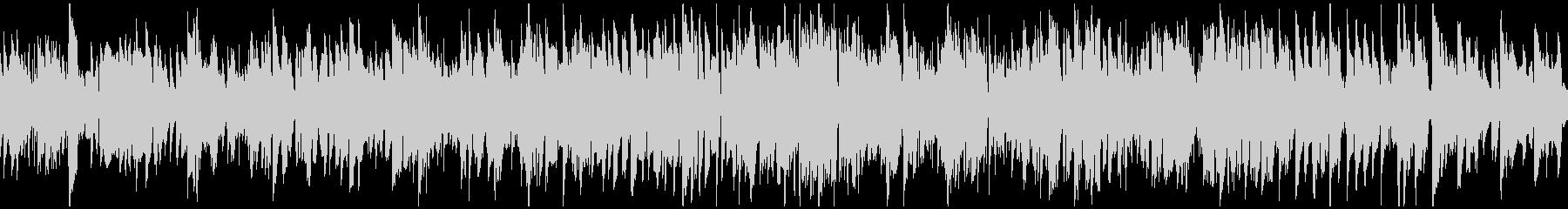 美しいメロディのジャズ・ワルツ※ループ版の未再生の波形