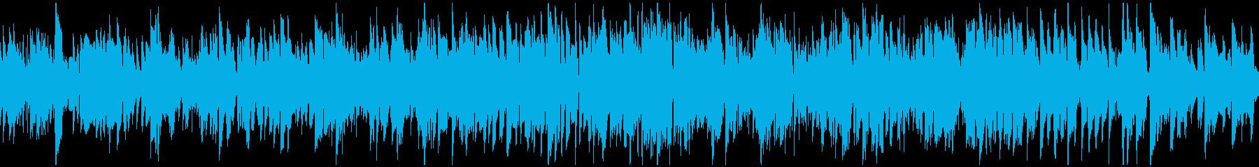 美しいメロディのジャズ・ワルツ※ループ版の再生済みの波形