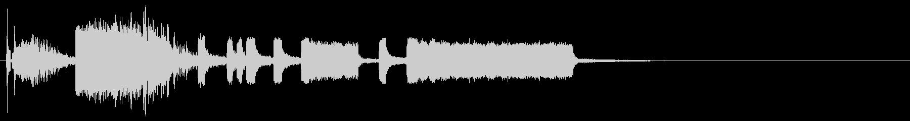 四次元ポケット、道具を出すファンファーレの未再生の波形