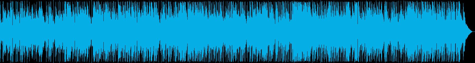 ドラマティックなギターブルース系の再生済みの波形