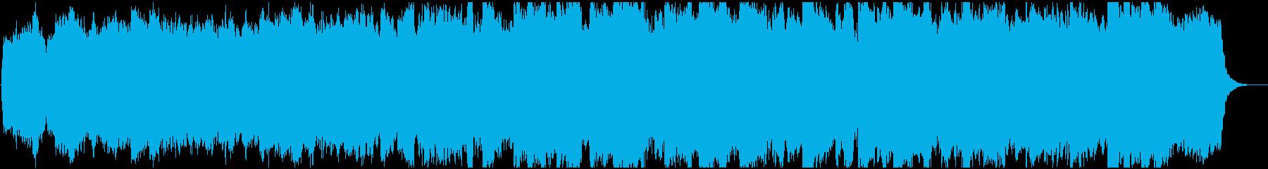 本格的なパイプオルガンで演奏される...の再生済みの波形