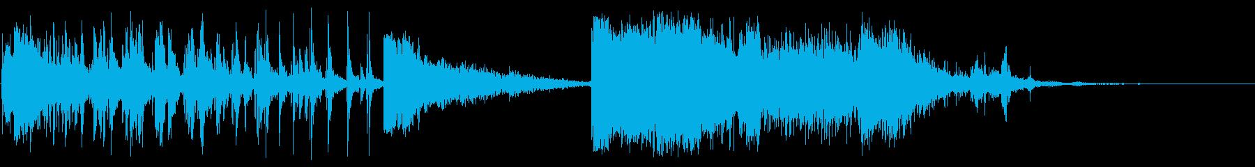 ストレッチ、スナップアンドクラッシ...の再生済みの波形