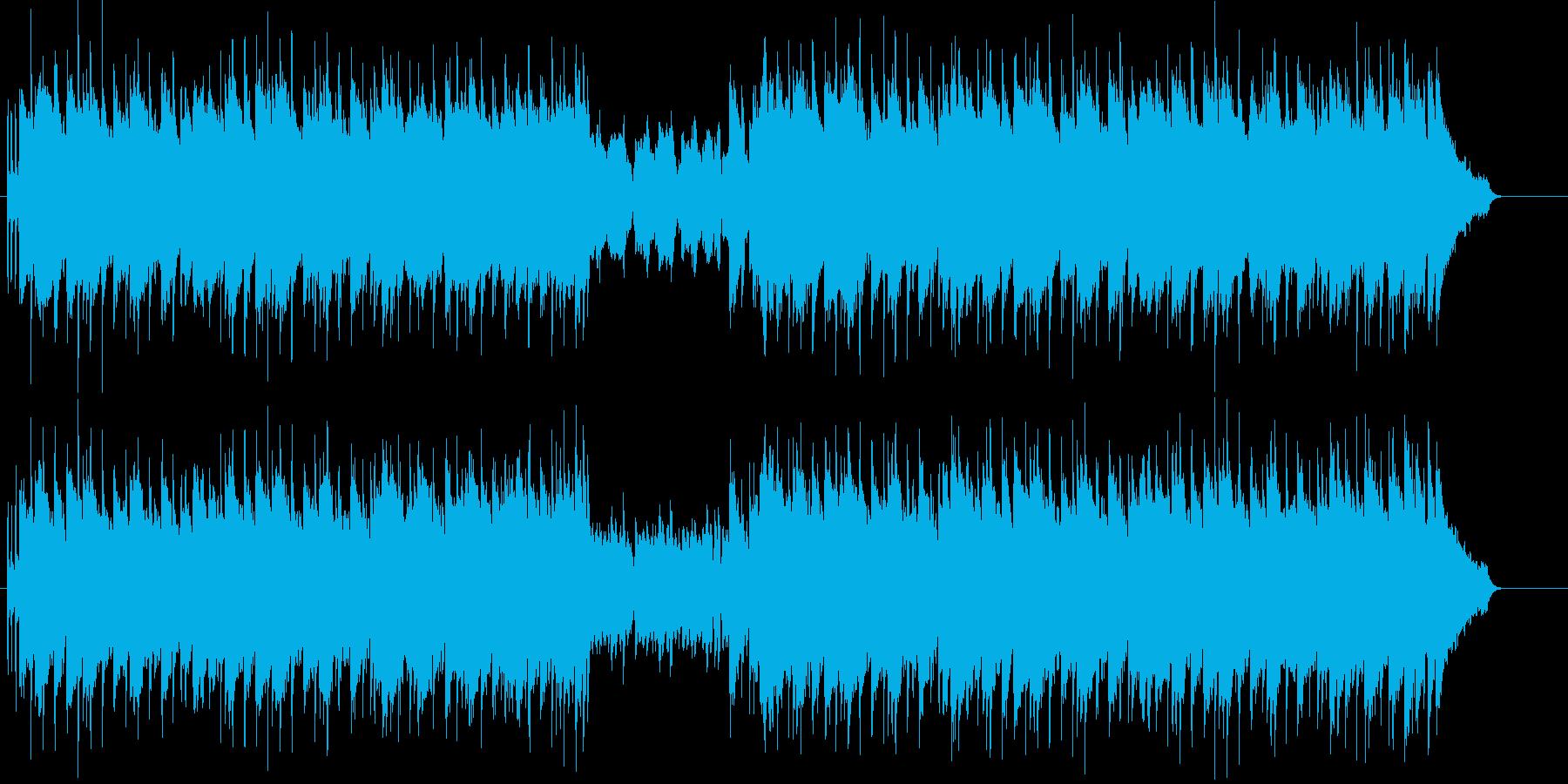 哀愁を含んだシリアスな歌謡バラード風の再生済みの波形