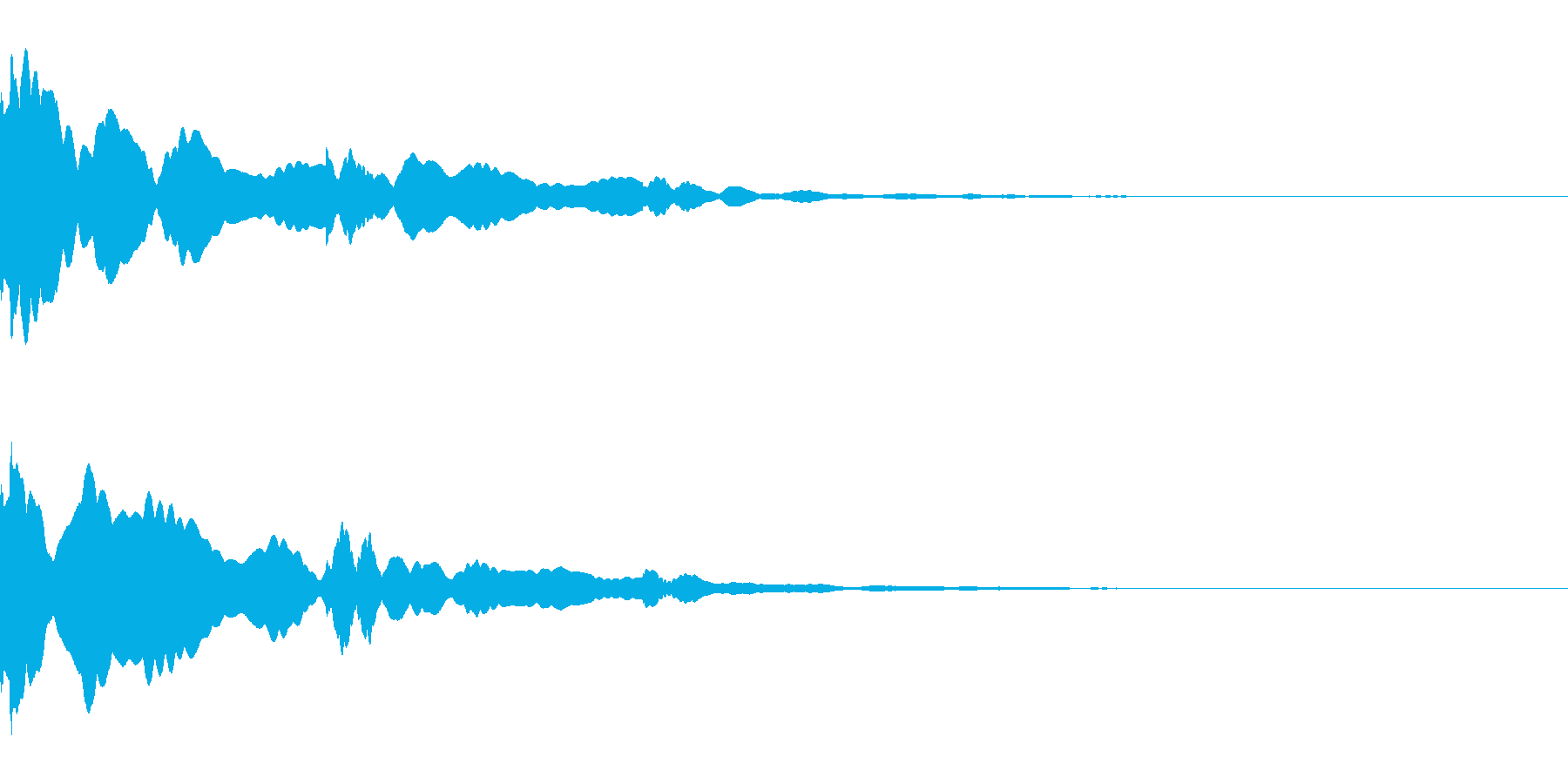 システム/金属/ベル/ポン/メタル/1の再生済みの波形