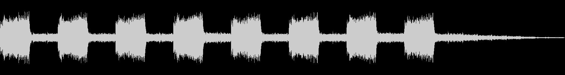 【効果音】警報音4の未再生の波形