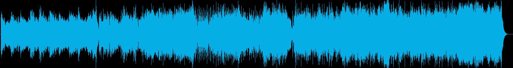 壮大でメロディアスなピアノクラシックの再生済みの波形