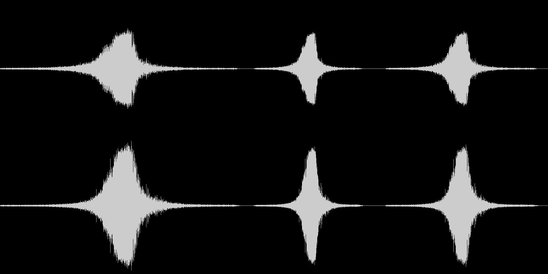 ジェット飛行機陸の未再生の波形