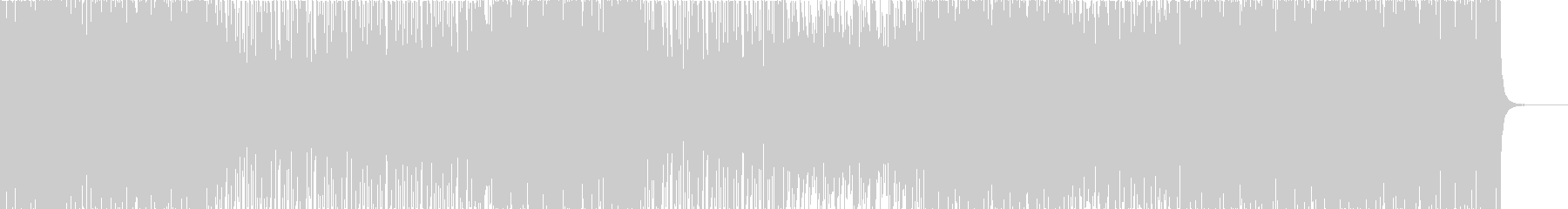 アッパーなディスコハウス。の未再生の波形