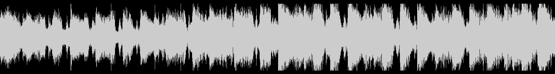 パワフルなエレクトロポップの未再生の波形