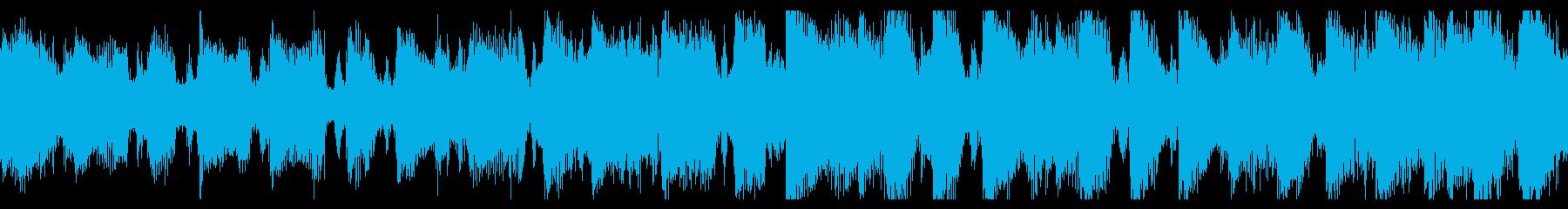 パワフルなエレクトロポップの再生済みの波形