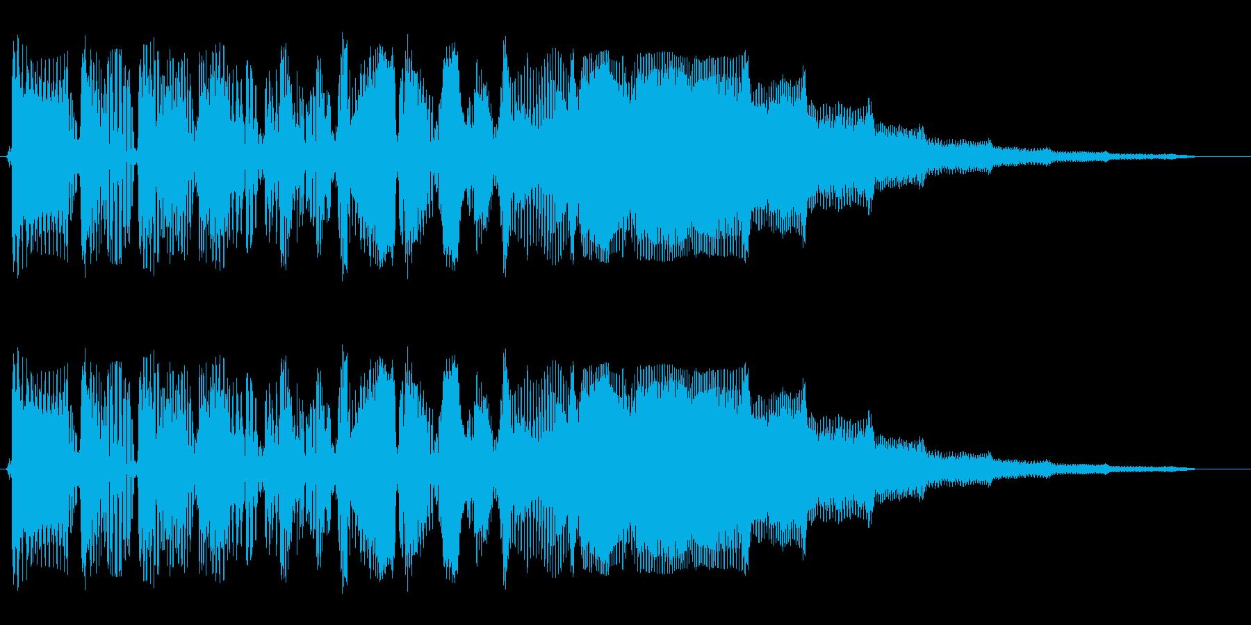 【SF系】ビヨビヨビヨビヨの再生済みの波形