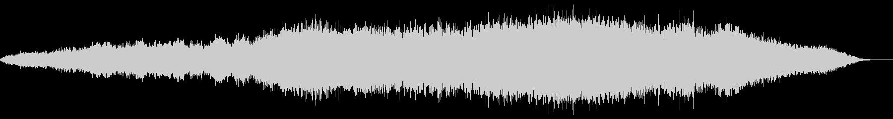 神秘的な雰囲気のアンビエント(背景音)9の未再生の波形