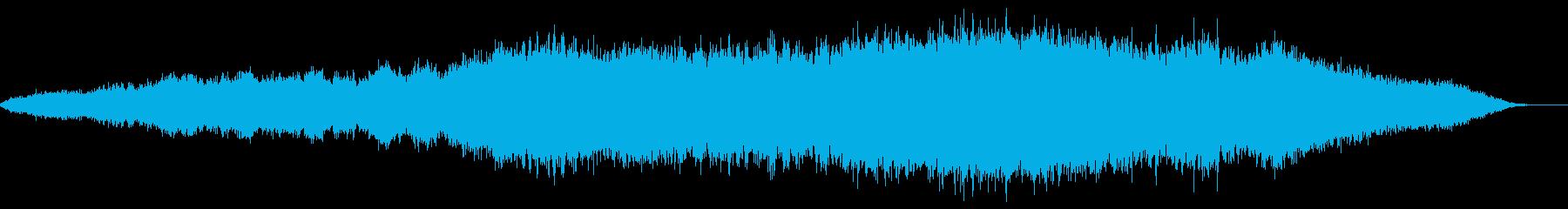 神秘的な雰囲気のアンビエント(背景音)9の再生済みの波形