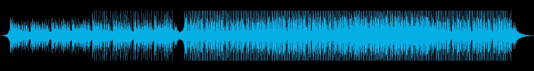 アラビア語の再生済みの波形