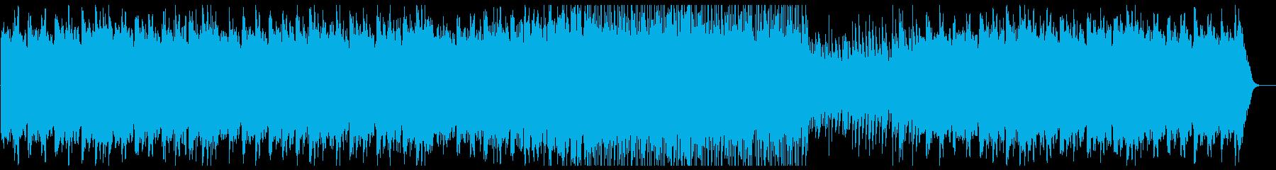 切なく美しい弦楽器シンセサウンドの再生済みの波形