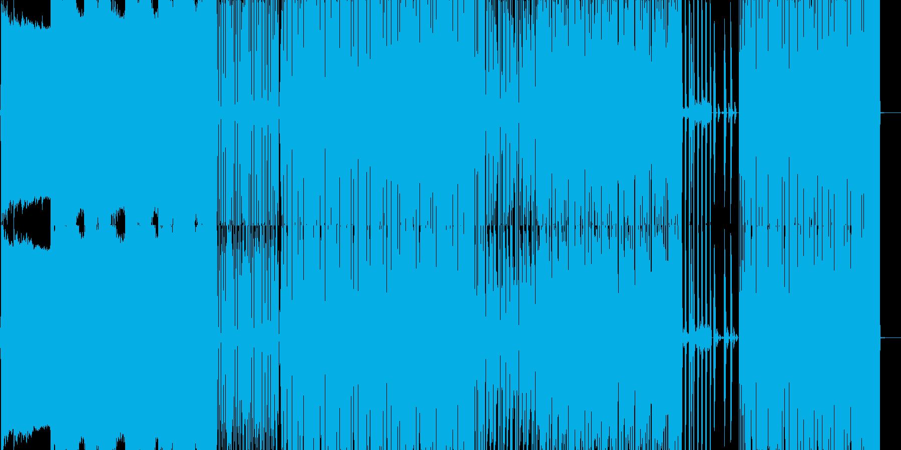 ドラムンベースを基調としたの再生済みの波形
