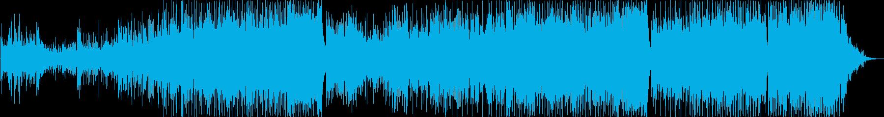 ラウンジのメロディ。歌として。背景...の再生済みの波形