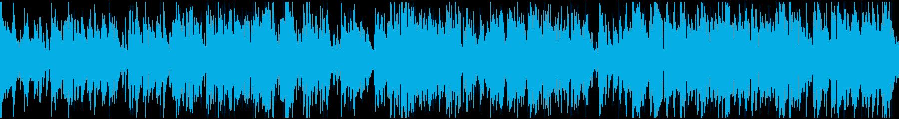 上品な大人のゆったり系ジャズ ※ループ版の再生済みの波形