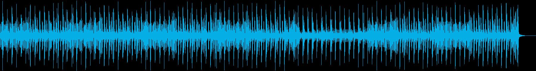 へたっぴリコーダーのほのぼのとした曲の再生済みの波形