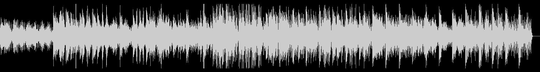 ゲームのフィールド画面に使われてそうな曲の未再生の波形