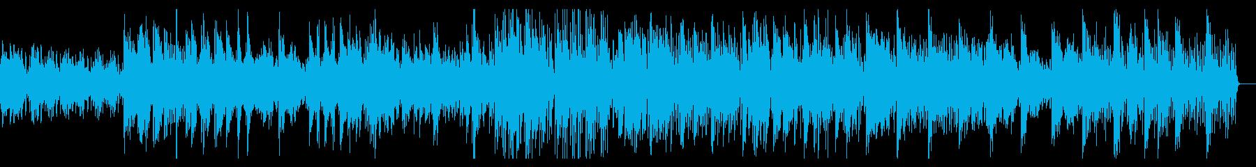 ゲームのフィールド画面に使われてそうな曲の再生済みの波形