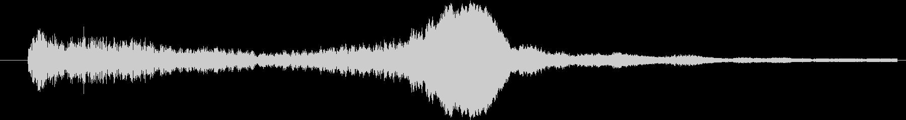イメージ 言葉のノイズ07の未再生の波形