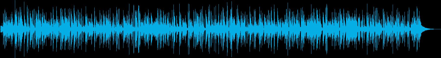 ピアノジャズ、YouTubeおしゃれ映像の再生済みの波形