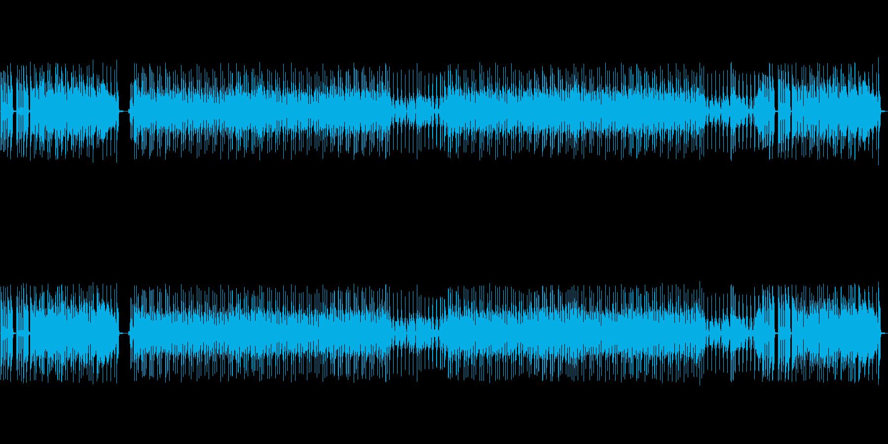 ニュース番組のオープニング風ファンクですの再生済みの波形