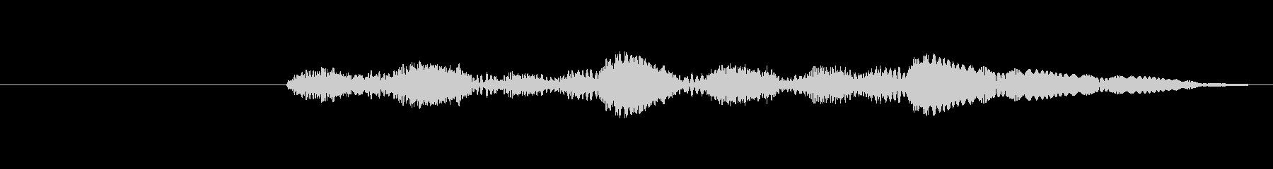 プルプル音(スライム・ゼリー系)5の未再生の波形