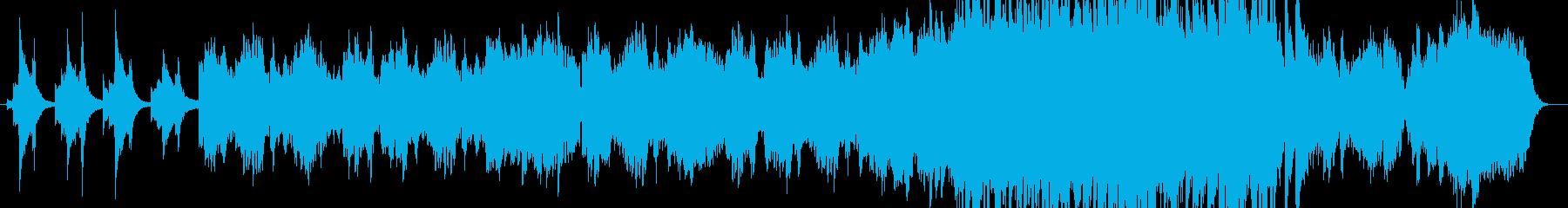 FF6のティナのテーマの様なイメージの再生済みの波形