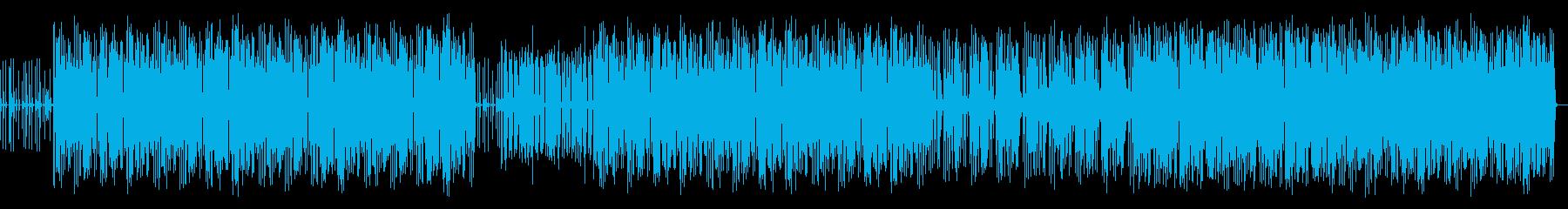 哀愁的なヒップホップの再生済みの波形