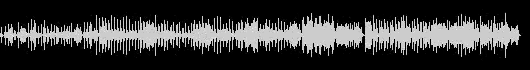 ハープの古代音楽風の神秘的な曲の未再生の波形