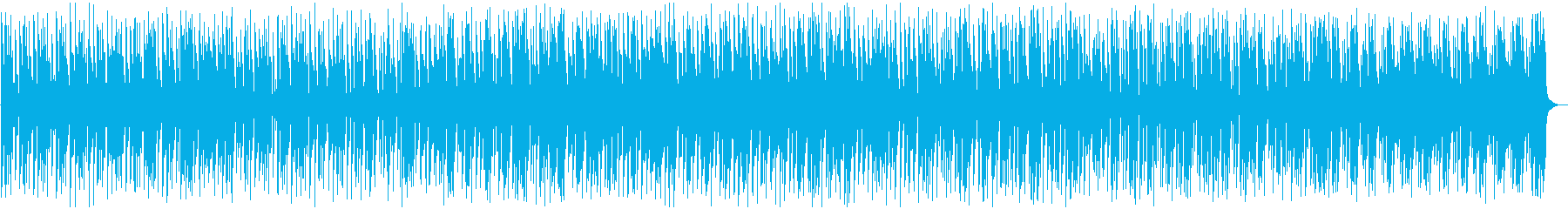 バラエティ動画向け軽快なフュージョンの再生済みの波形