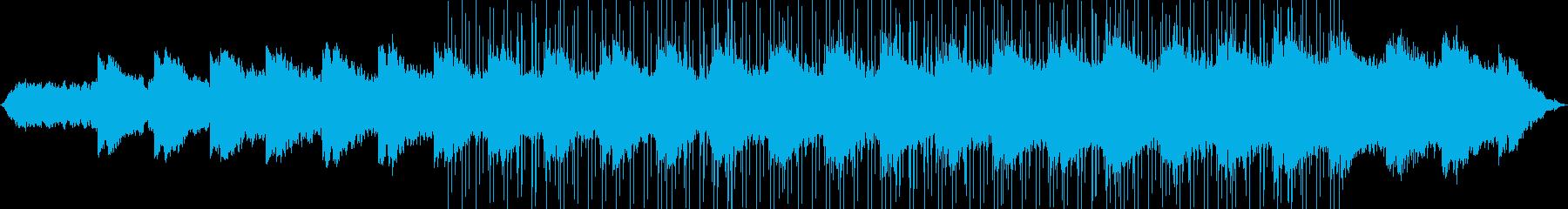 思い出をイメージした切ないBGMの再生済みの波形
