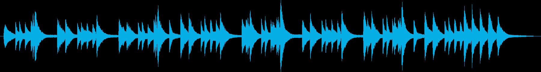 ピアノ ソロの再生済みの波形