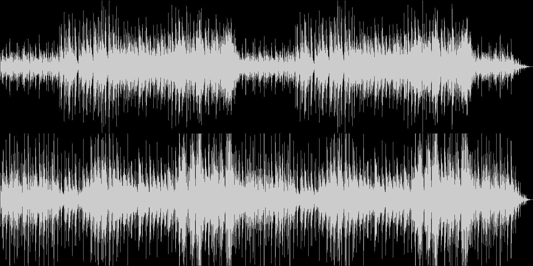 ゆったりリラックスするアコギの未再生の波形