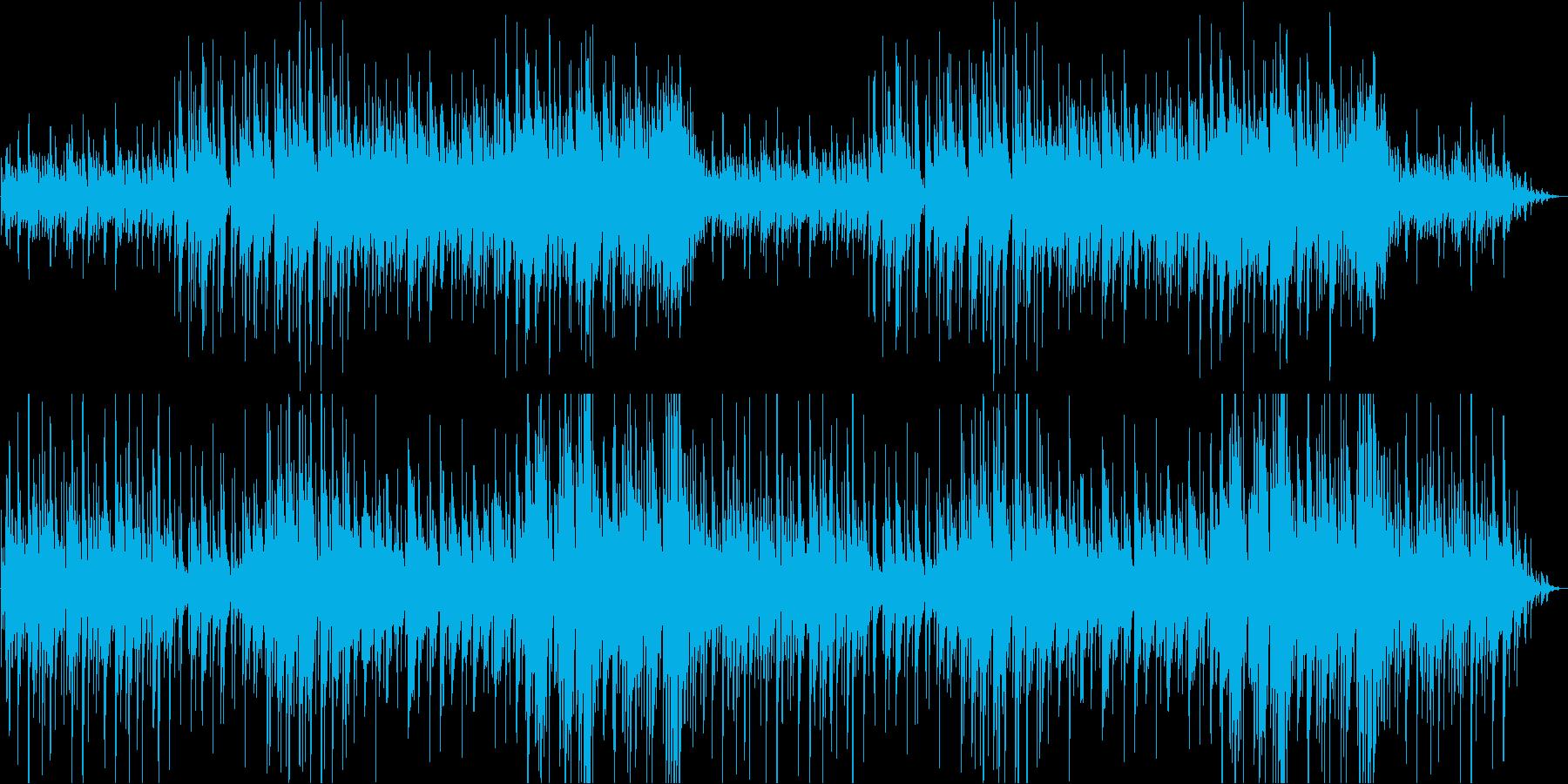 ゆったりリラックスするアコギの再生済みの波形