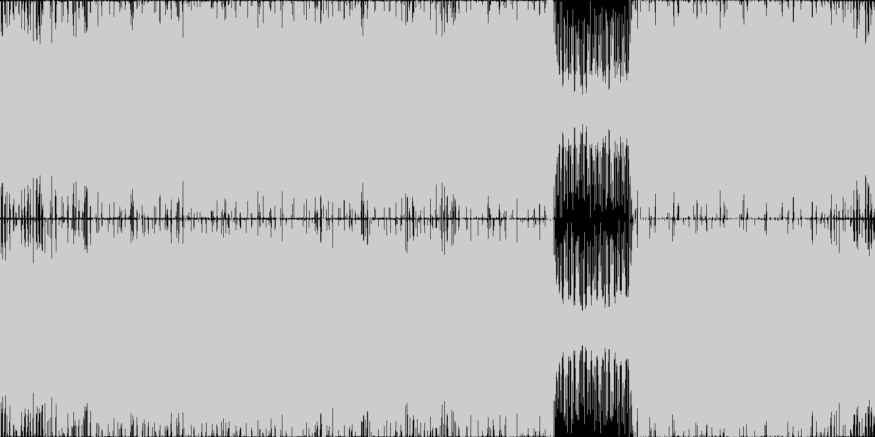 【ボス戦】疾走感/ロック/ギター/ピアノの未再生の波形