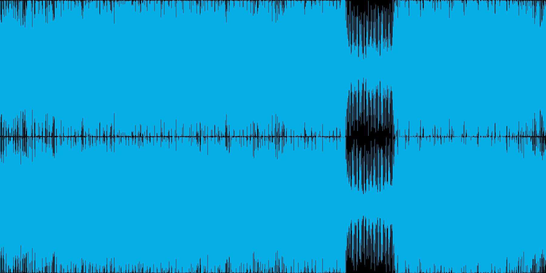 【ボス戦】疾走感/ロック/ギター/ピアノの再生済みの波形
