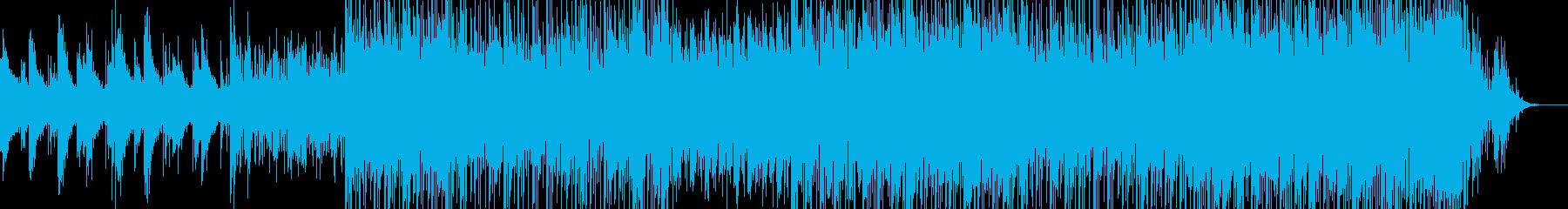 温泉街の再生済みの波形