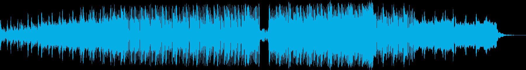 気だるいシンセのゆったり9/8拍子の再生済みの波形