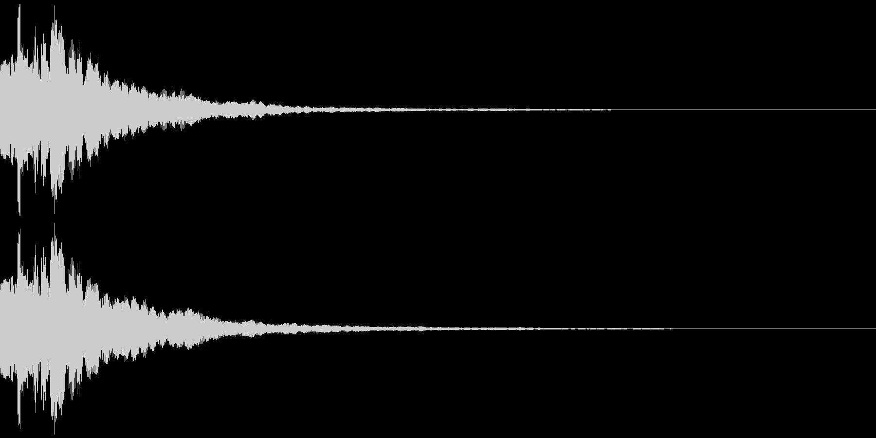 テレビ番組・動画テロップ・汎用UI音gの未再生の波形